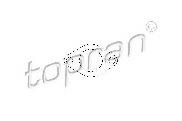 TOPRAN 110376 Прокладка egr-клапана рециркуляции