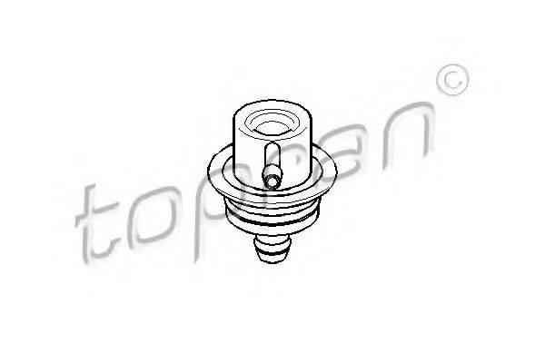 TOPRAN 108125 Регулятор давления подачи топлива
