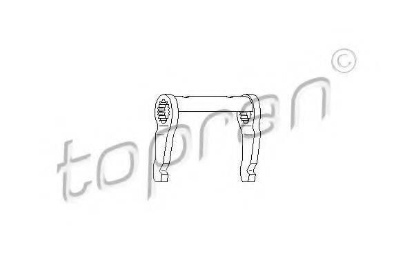 TOPRAN 107293 Вилка сцепления
