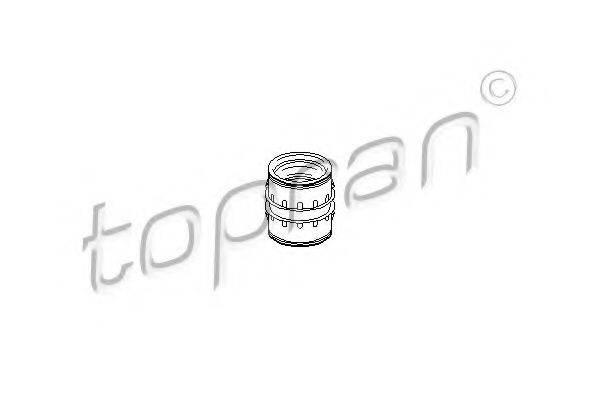 TOPRAN 111542 Патрубок наддува