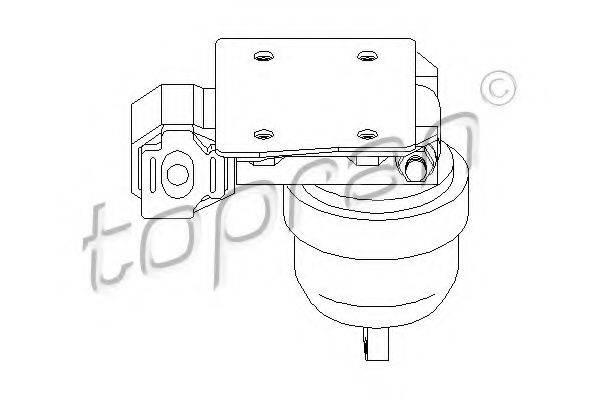 TOPRAN 107963 Подушка двигателя