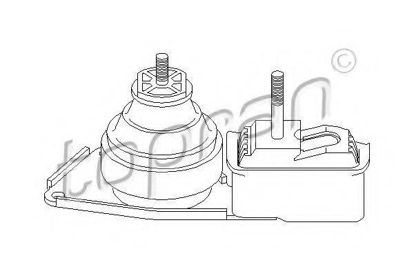 TOPRAN 108509 Подушка двигателя