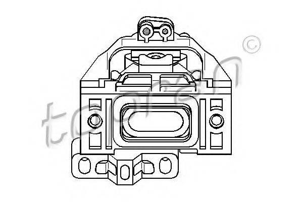 TOPRAN 107977 Подушка двигателя