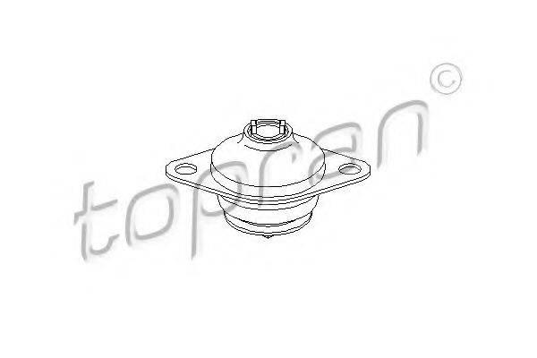 TOPRAN 104236 Подушка двигателя