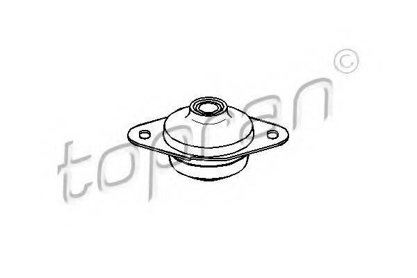 TOPRAN 104237 Подушка двигателя