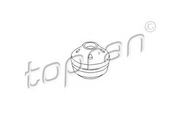 TOPRAN 104238 Подушка МКПП