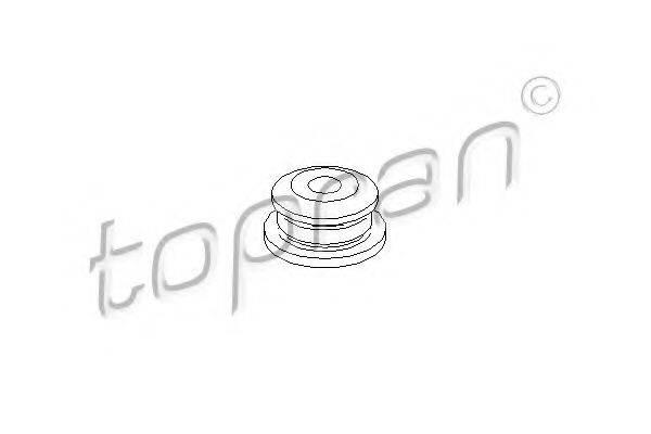 TOPRAN 107978 Подушка двигателя