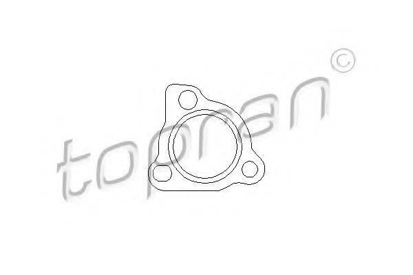 TOPRAN 109116 Прокладка турбо-компрессора