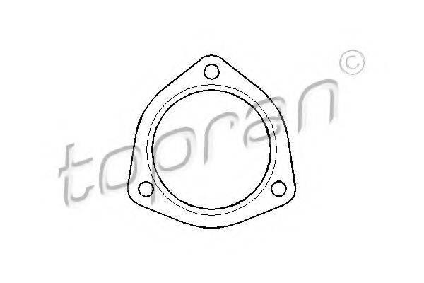 TOPRAN 107206 Прокладка трубы выхлопного газа