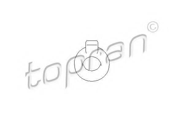 TOPRAN 102755 Кронштейн глушителя