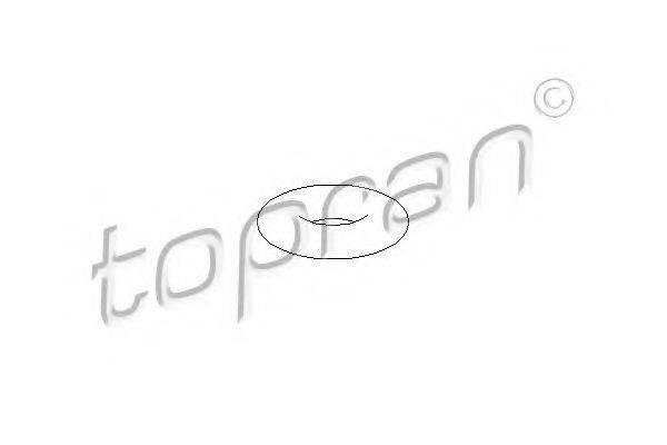 TOPRAN 104293 Кронштейн глушителя
