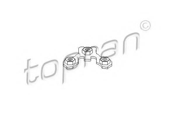 TOPRAN 102773 Стопорная пластина, несущие / нап