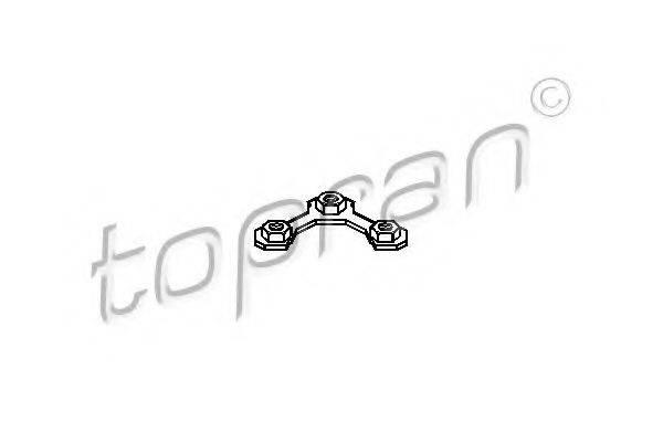 TOPRAN 108158 Стопорная пластина, несущие / нап