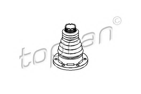 TOPRAN 109248 Пыльник ШРУСа