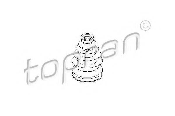 TOPRAN 111775 Пыльник ШРУСа