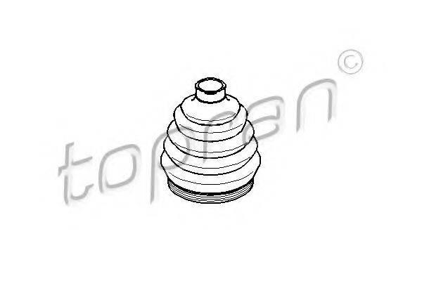 TOPRAN 109253 Пыльник ШРУСа
