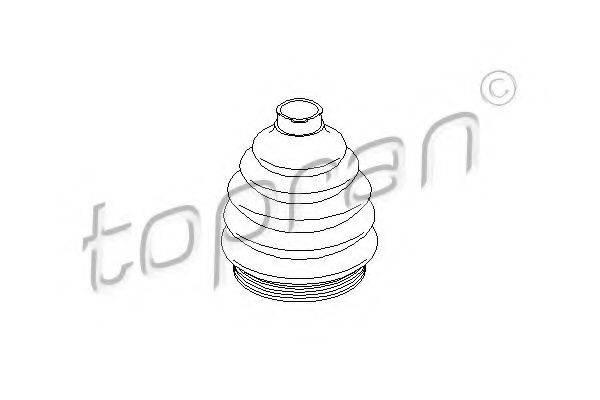 TOPRAN 103033 Пыльник ШРУСа