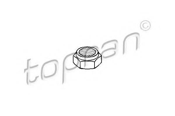 TOPRAN 102602 Конец вала, приводной вал