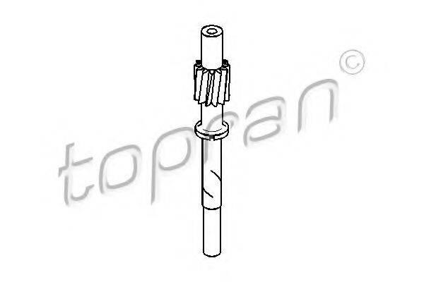 TOPRAN 107398 Тросик спидометра