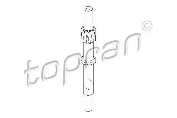 TOPRAN 107401 Тросик спидометра