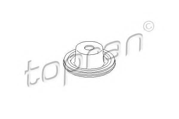 TOPRAN 110714 Опора амортизатора