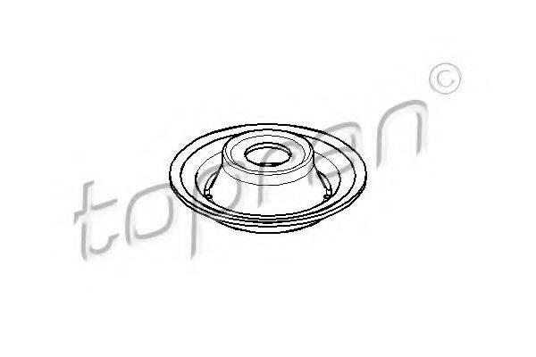 TOPRAN 103492 Тарелка пружины