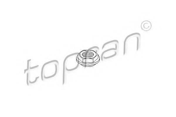 TOPRAN 103040 Резьбовая втулка, стойка амортизатора