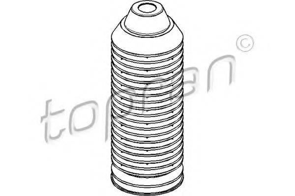 TOPRAN 103496 Пыльник амортизатора