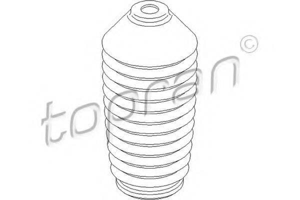 TOPRAN 107642 Пыльник амортизатора