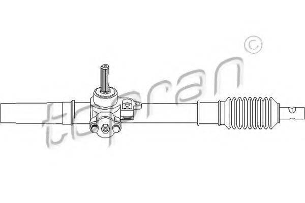 TOPRAN 104247 Рулевой механизм