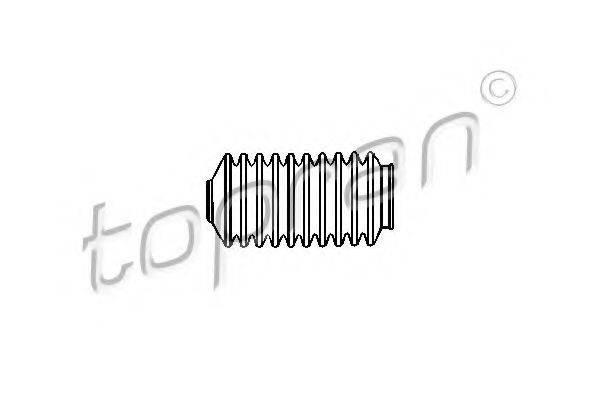 TOPRAN 104222 Пыльник рулевой рейки