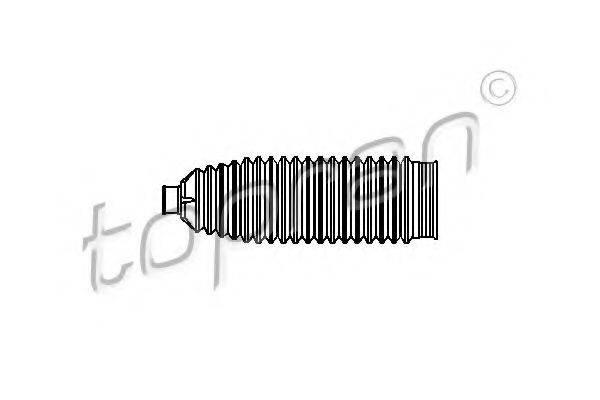 TOPRAN 109440 Пыльник рулевой рейки