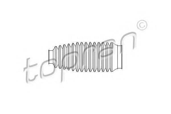TOPRAN 109441 Пыльник рулевой рейки