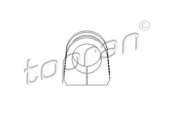 TOPRAN 108694 Подушка рулевой рейки