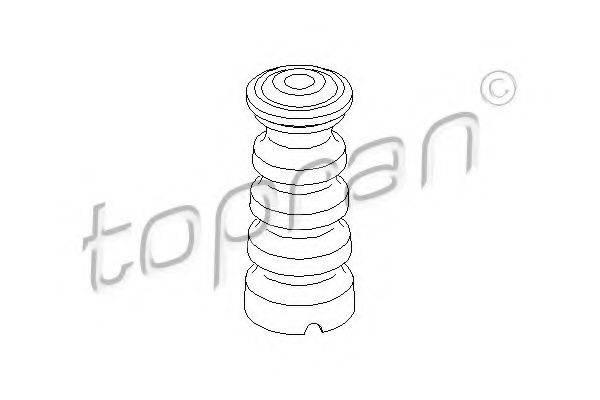 TOPRAN 104228 Буфер, амортизация