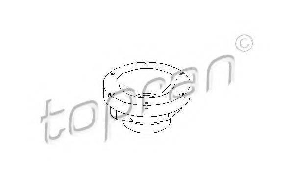 TOPRAN 108732 Тарелка пружины