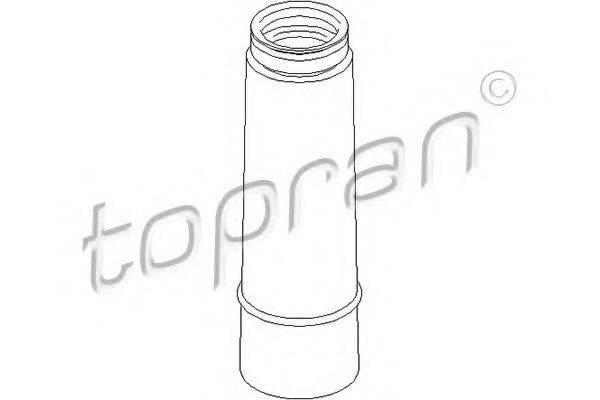 TOPRAN 107650 Пыльник амортизатора