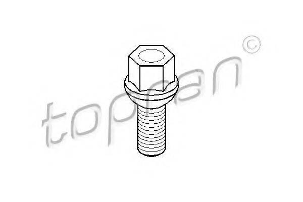 TOPRAN 112225 Болт крепления колеса