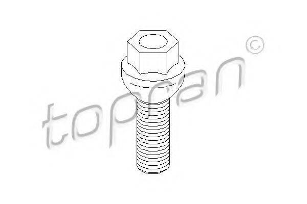 TOPRAN 111456 Болт крепления колеса