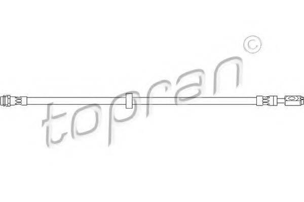 TOPRAN 108393 Тормозной шланг