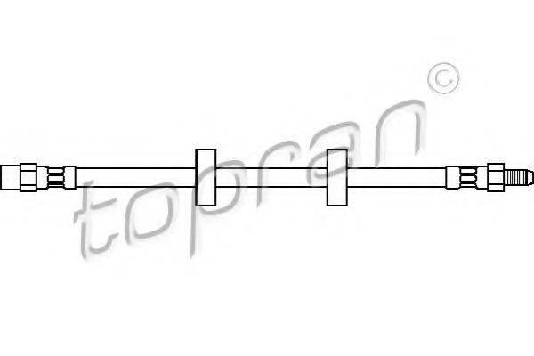 TOPRAN 104232 Тормозной шланг