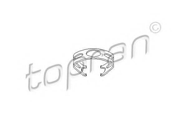 TOPRAN 108718 Скоба тормозного шланга