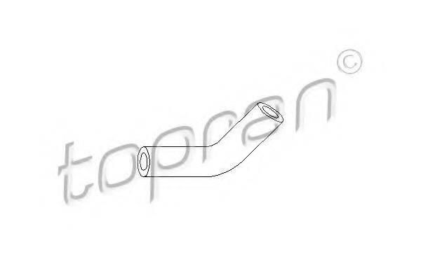 TOPRAN 103405 Шланг разрежения, тормозная система