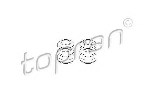 TOPRAN 109966 Ремкомплект тормозного суппорта