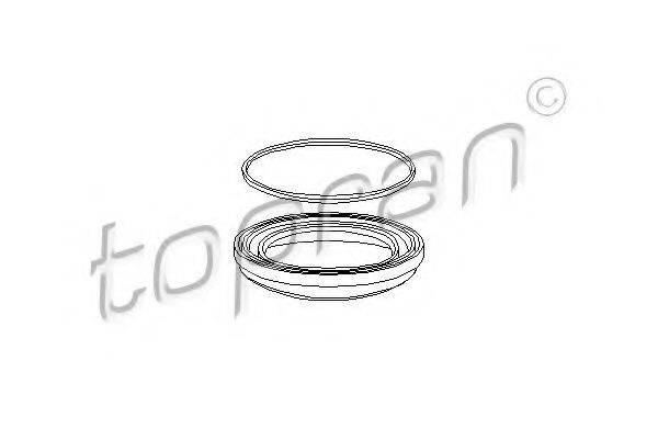 TOPRAN 102639 Ремкомплект тормозного суппорта
