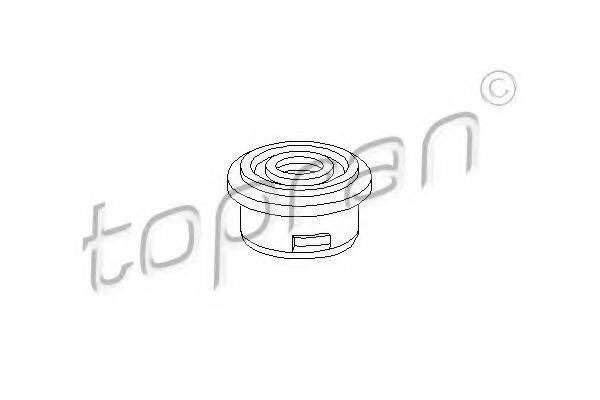 TOPRAN 102845 Втулка, шток вилки переключения