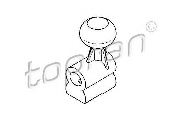 TOPRAN 109707 Шток вилки переключения передач