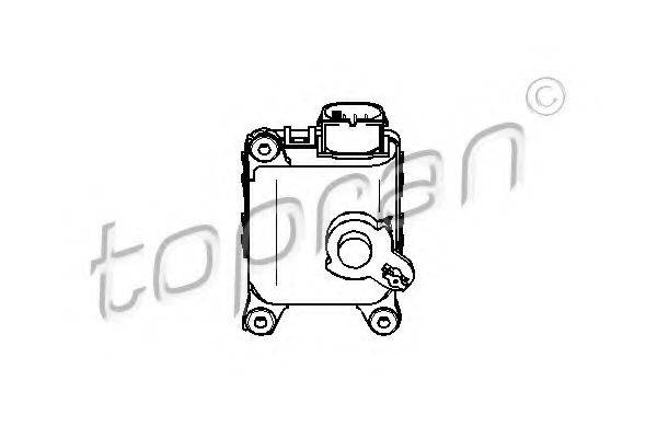 TOPRAN 111092 Регулировочный элемент, смесительный клапан