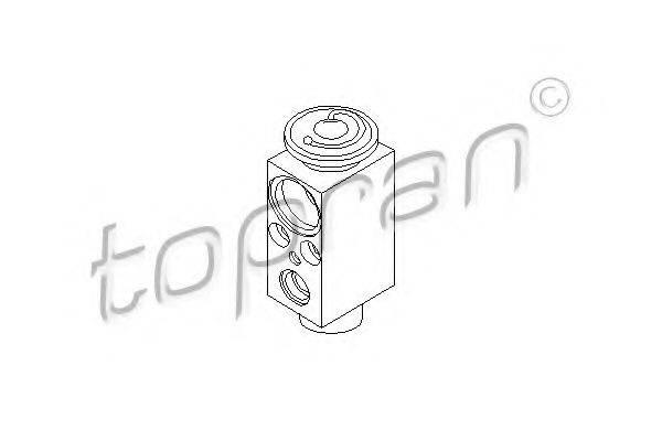 TOPRAN 110730 Расширительный клапан кондиционера