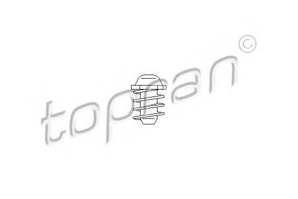 TOPRAN 107619 Буфер, капот